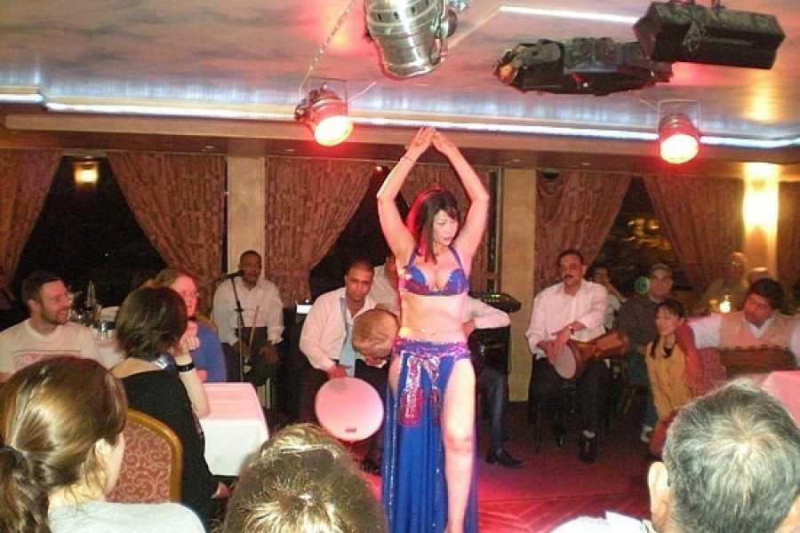 EMO TOURS EGYPT КАИР УЖИН КРУИЗ С BELLY DANCER ШОУ
