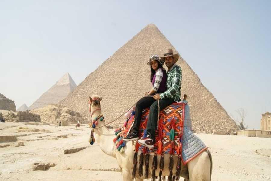 EMO TOURS EGYPT GIORNO GIRO DI PIRAMIDI DI GIZA CAMEL