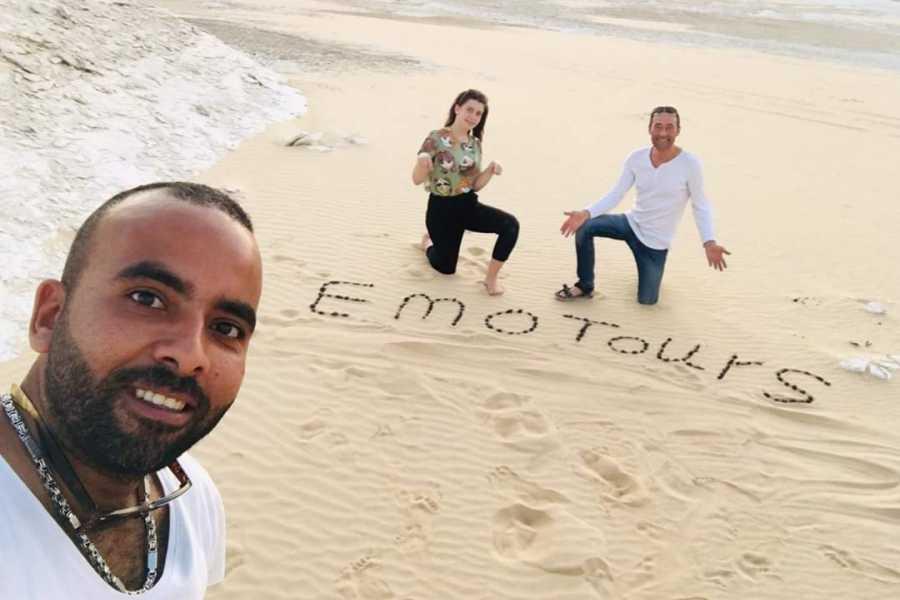 EMO TOURS EGYPT НОЧЬ ПОХОД В БЕЛЫЙ И ЧЕРНЫЙ ПУСТЫНИ ИЗ КАИРА
