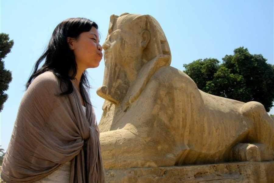 EMO TOURS EGYPT CAIRO GIORNO GIRO A MEMPHIS SAKKARA & DAHSHUR PIRAMIDI