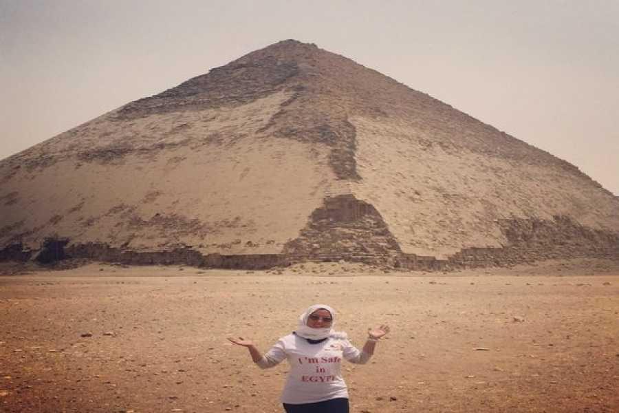 EMO TOURS EGYPT MEMPHISサッカラ&ダハシュール ピラミッドへのカイロデイツアー