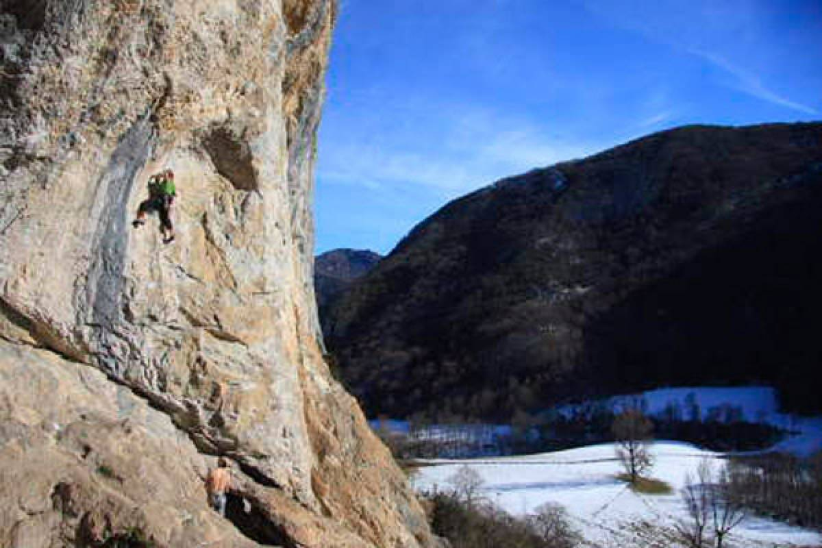 Spa Treks - Activ Adventure Ariege & Catalunya sport climbing holiday
