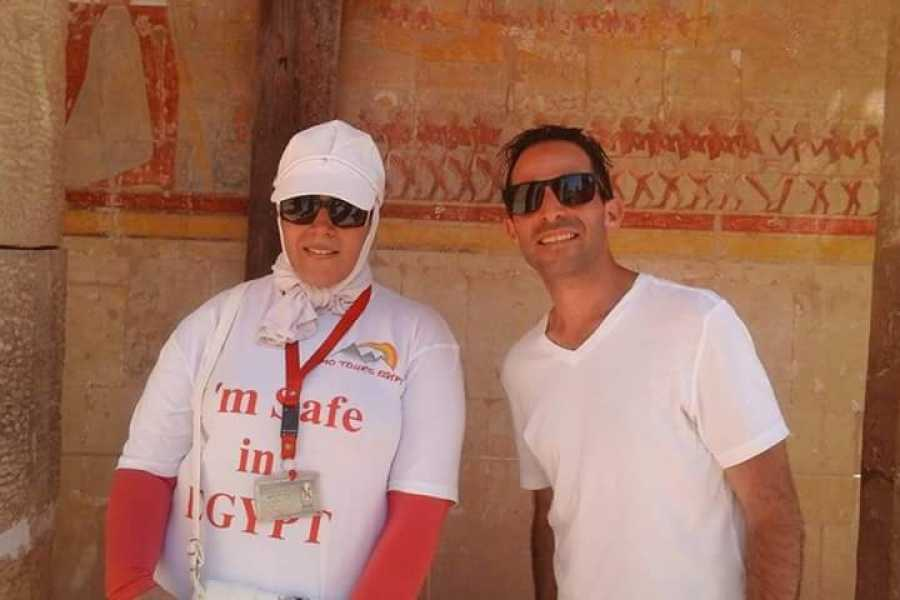 EMO TOURS EGYPT BUDGET LUXOR DAY TRIP A WEST BANK VISITARE LA VALLE RE MEMNONE COLOSSI & TEMPIO DI HATSHEPSUT