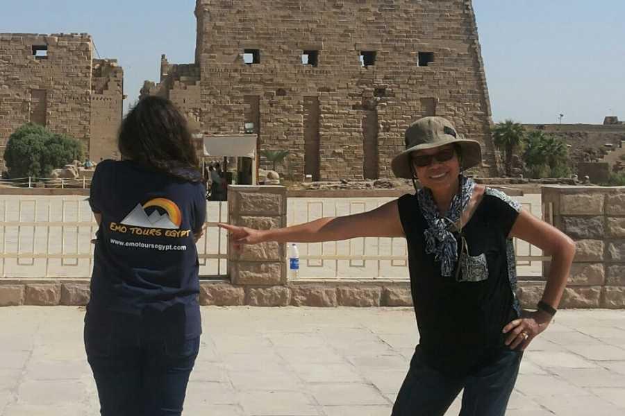 EMO TOURS EGYPT 预订卢克索一日游到东岸参观卡纳克神庙和卢克索 寺庙