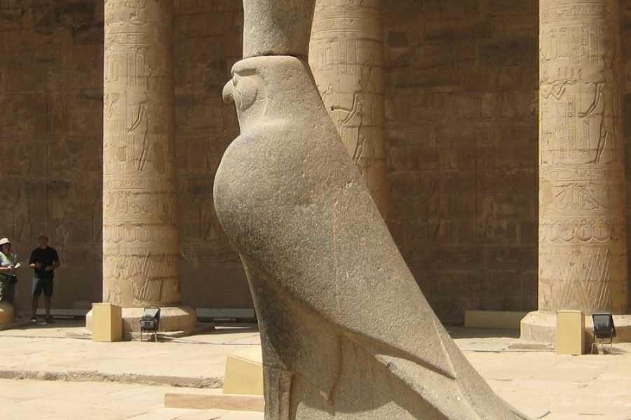 EMO TOURS EGYPT Passeio de um dia  VISITAR TEMPLOS EDFU KOM OMBO DE LUXOR