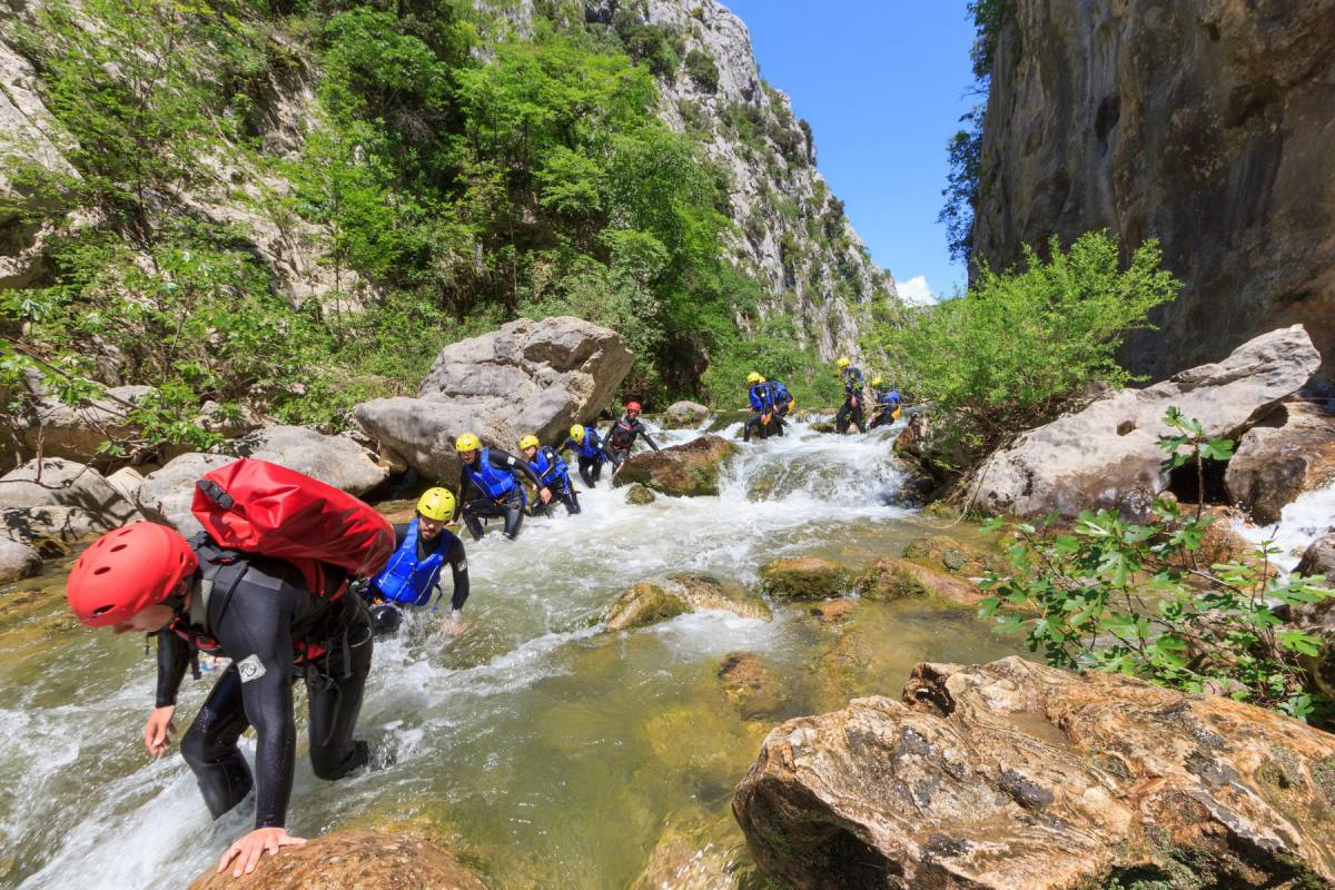 Iris Adventures Croatia Canyoning Croatia