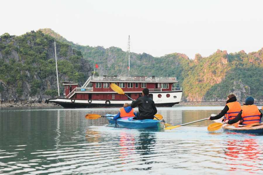 Friends Travel Vietnam The Cat Ba -Lan Ha Bay Private Cruise Experience 3D2N - Depart from Hanoi