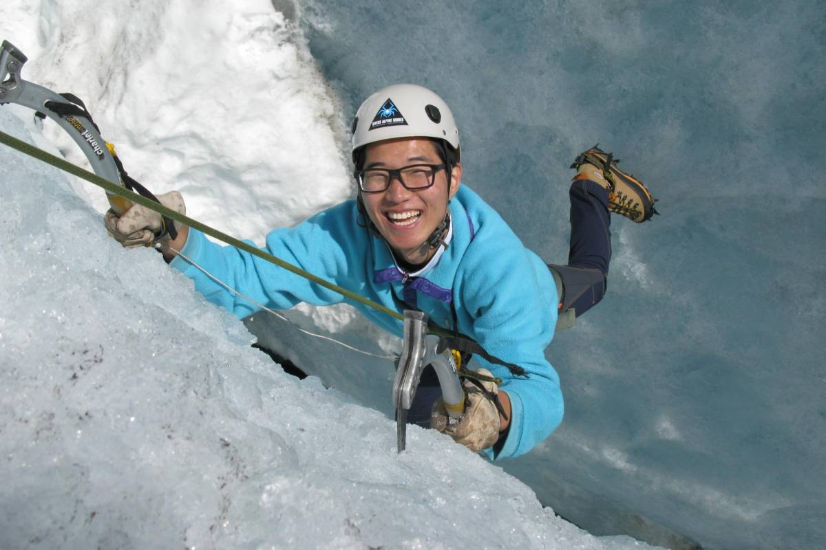 Swiss Alpine Guides Glacier Ice Climbing - Full day