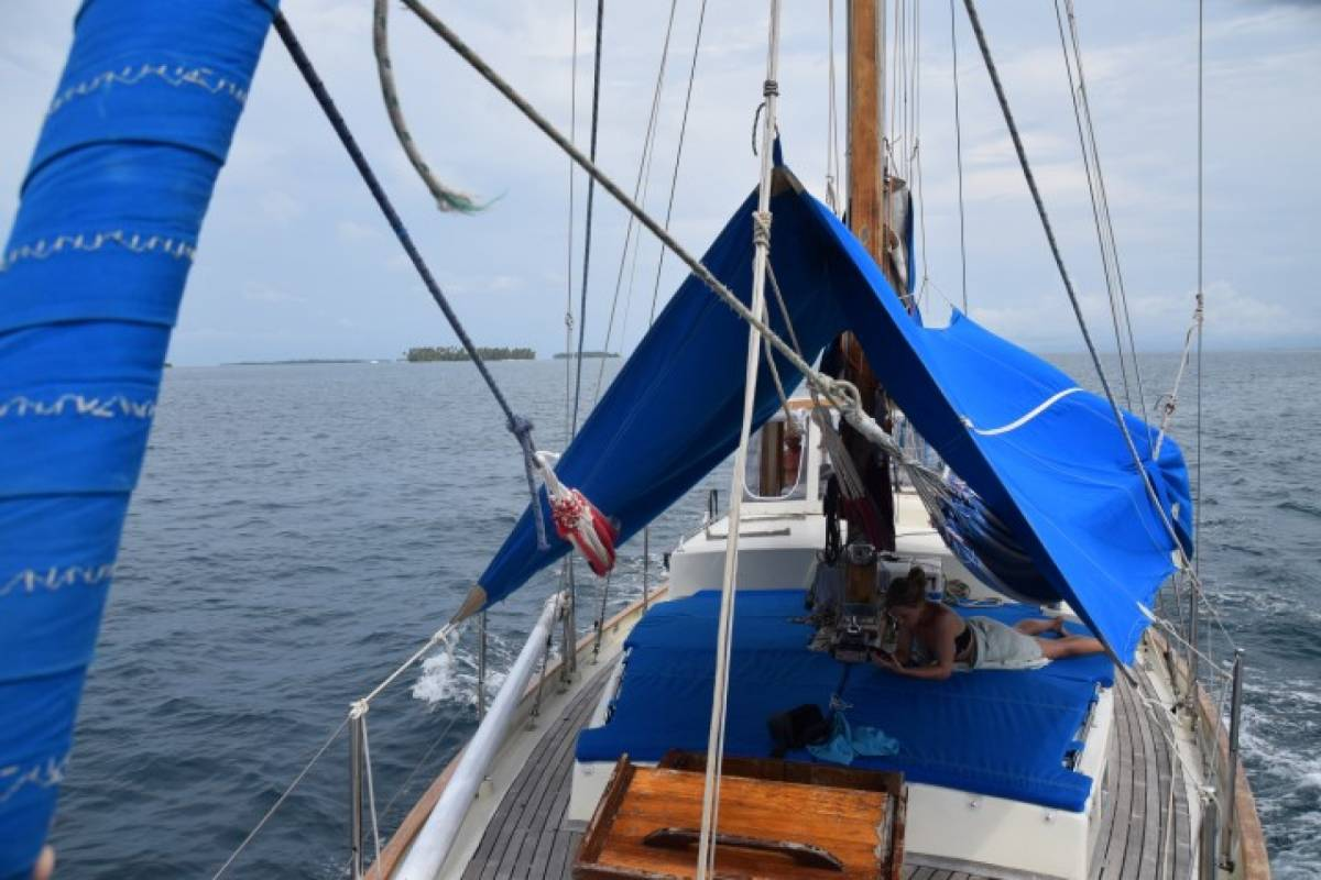 Cacique Cruiser BOAT TO COLOMBIA - African Queen II sailboat