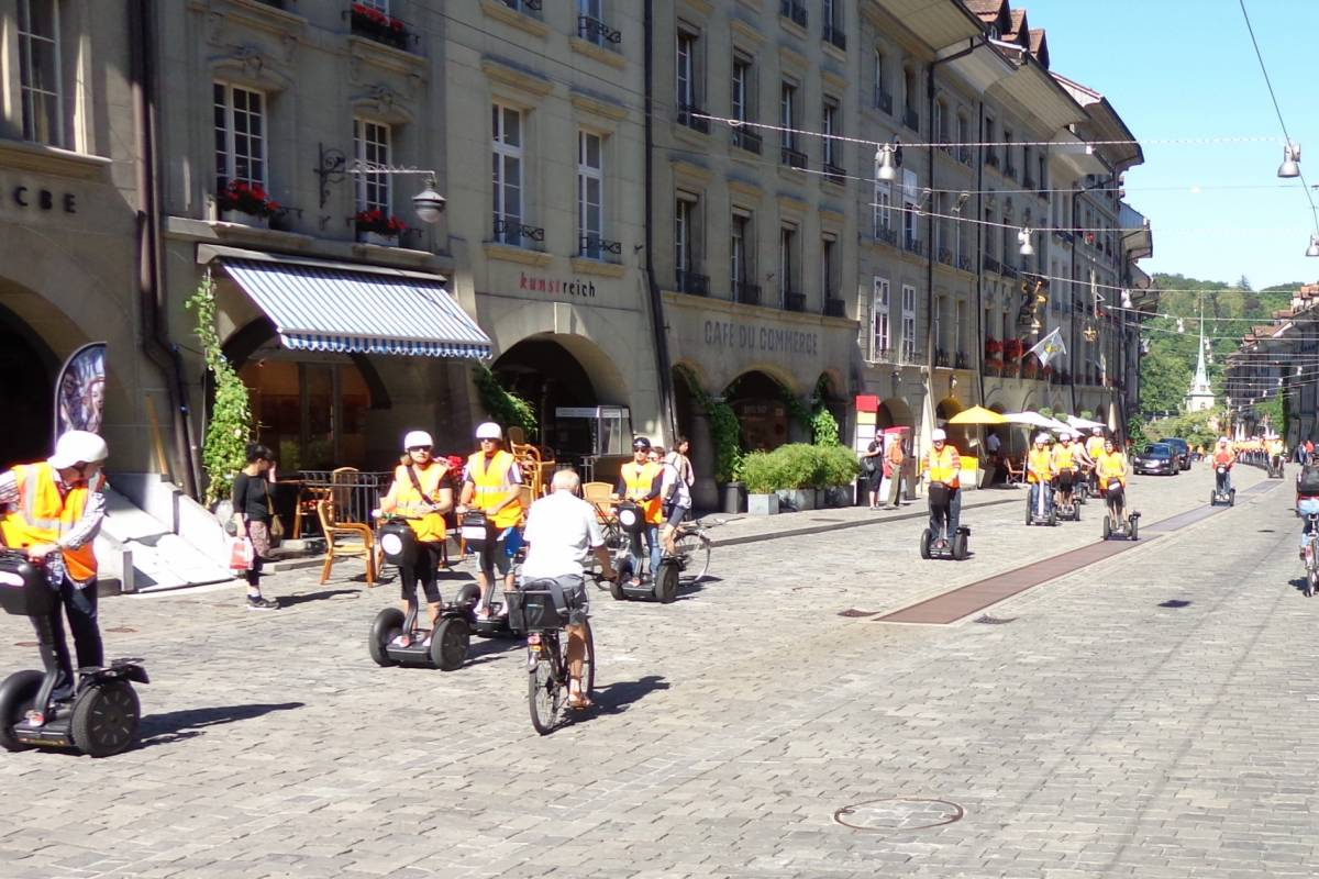 Segway City Tours Segway City Tour Bern