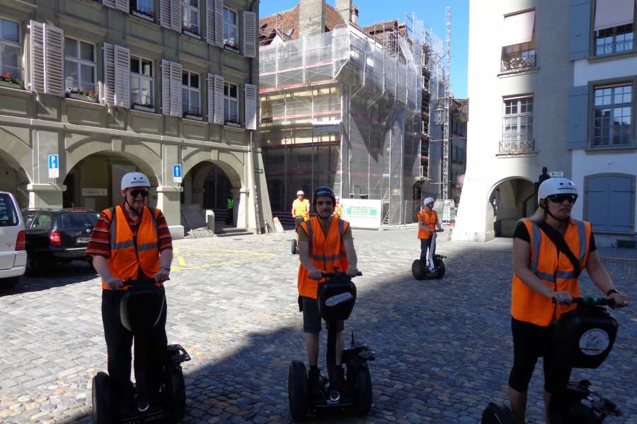 Segway City Tours by HB-Adventure Segway City Tour Bern