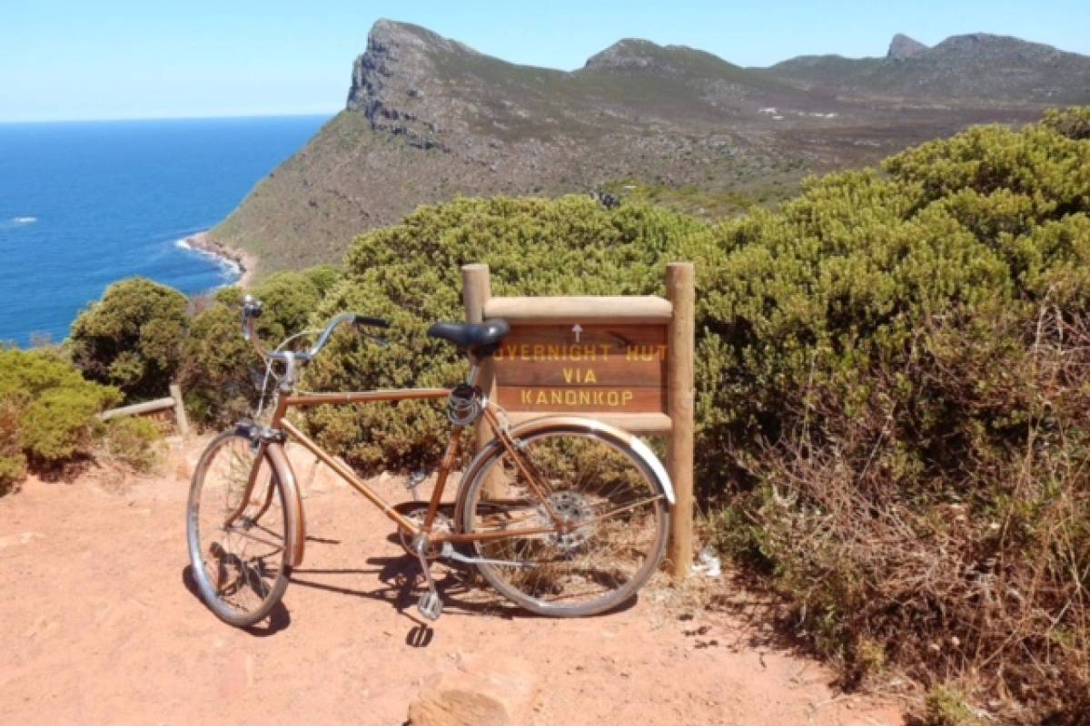 Cycle Cape Point Point de cap de cycle