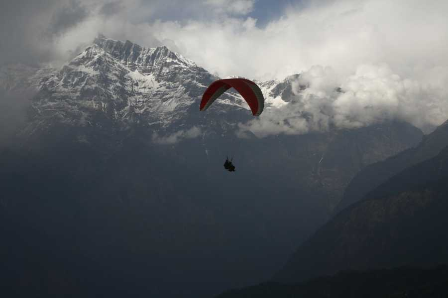 Blue Tribe Paragliding Cross country Tandem Pokhara