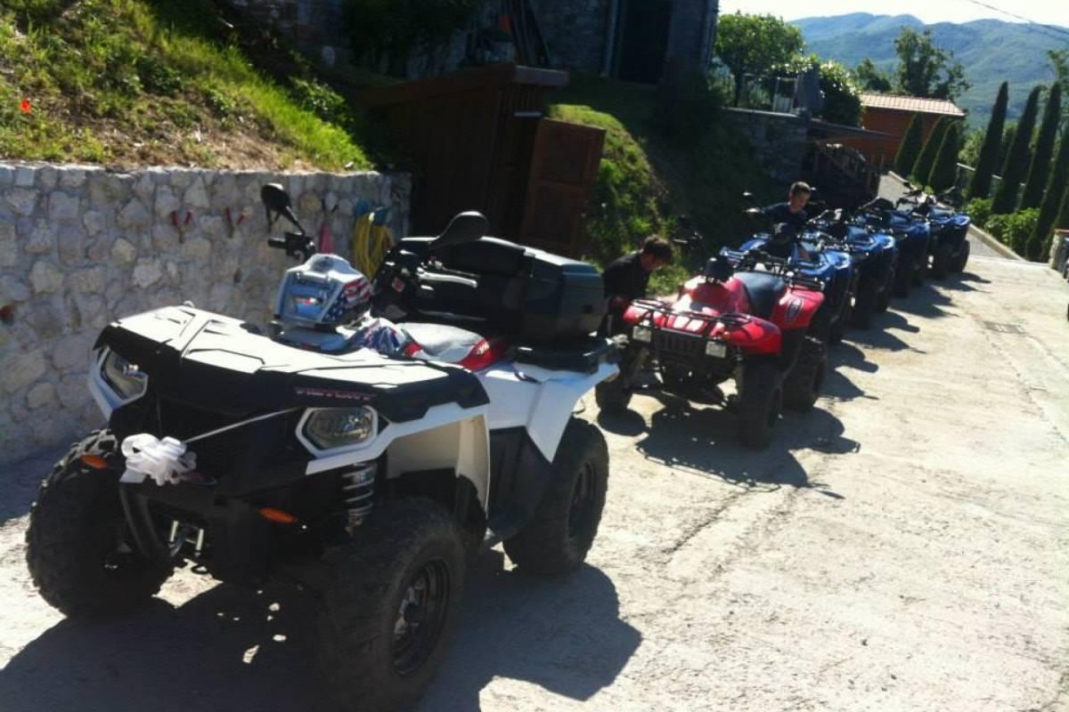 Lucca Quad Quad Trek 'Orrido di Botri'