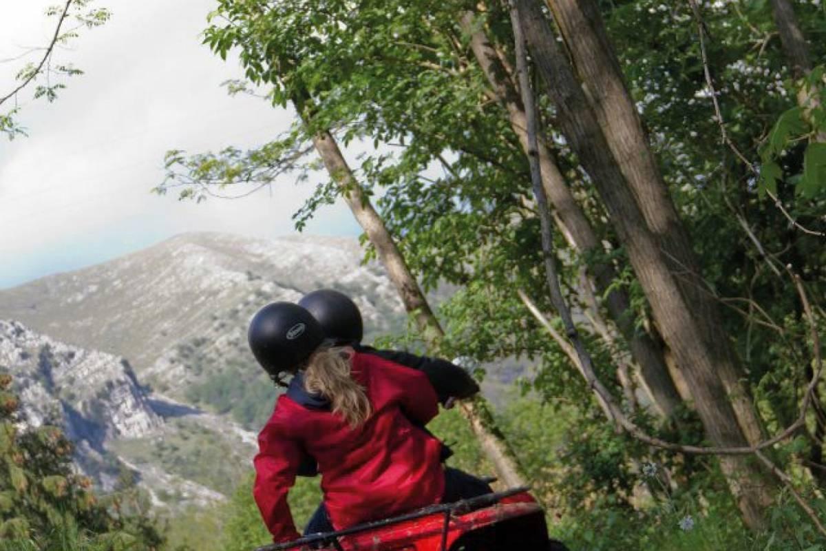 Lucca Quad Escursione Quad  'Orrido di Botri'