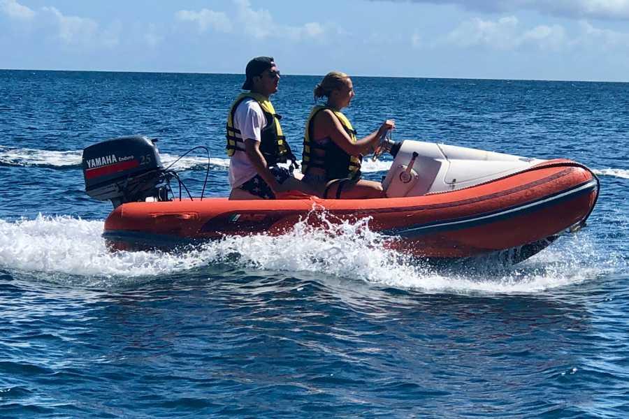 Blue Water Safaris Mini Speedboat and Snorkel Adventure