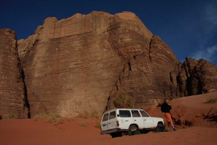 Spa Treks - Activ Adventure Jordan Wadi Rum & Petra Trek - in the footsteps of Lawrence of Arabia