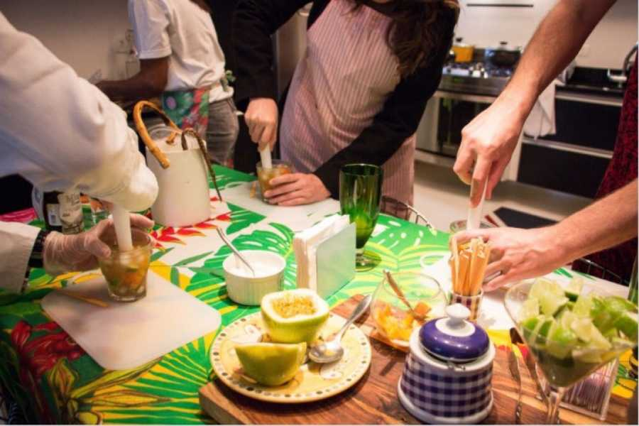 Around SP BRAZILIAN DISH COOKING CLASS (5hrs)