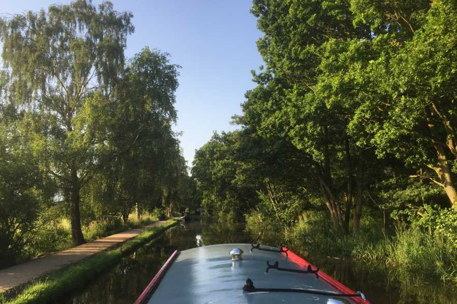 Lancashire Canal Cruises Full Day Charter with Skipper for up to 12 people
