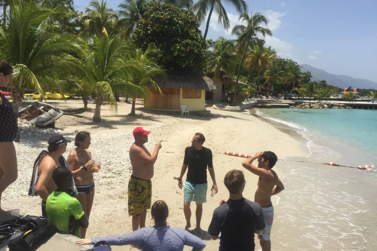 Marina Blue Haiti Curso de Buceo PADI Open Water Diver