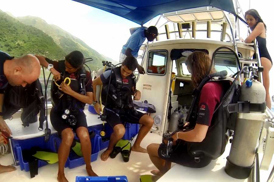 Marina Blue Haiti PADI Open Water Diver course