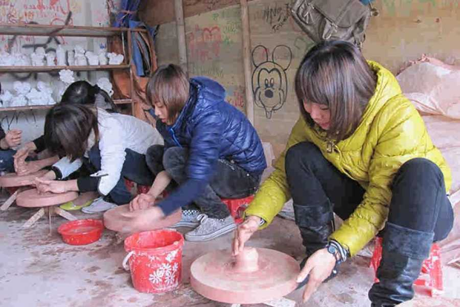 Vietnam 24h Tour Bat Trang Ceramic Village - Van Phuc Silk Village Tour full day