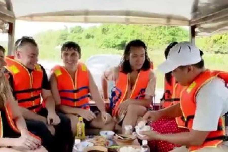Vietnam 24h Tour Luxury Cu Chi Tunnels Speedboat Tour