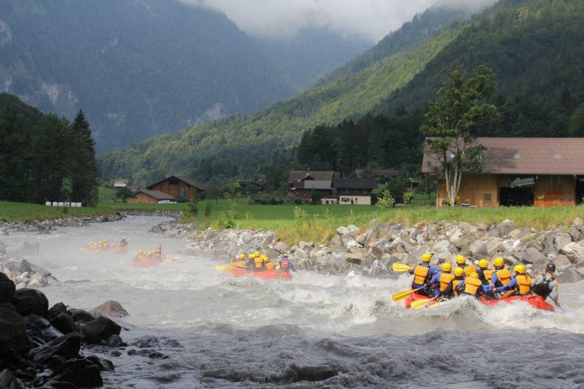 Outdoor Interlaken AG 루취네강 래프팅 (River Rafting Lütschine)