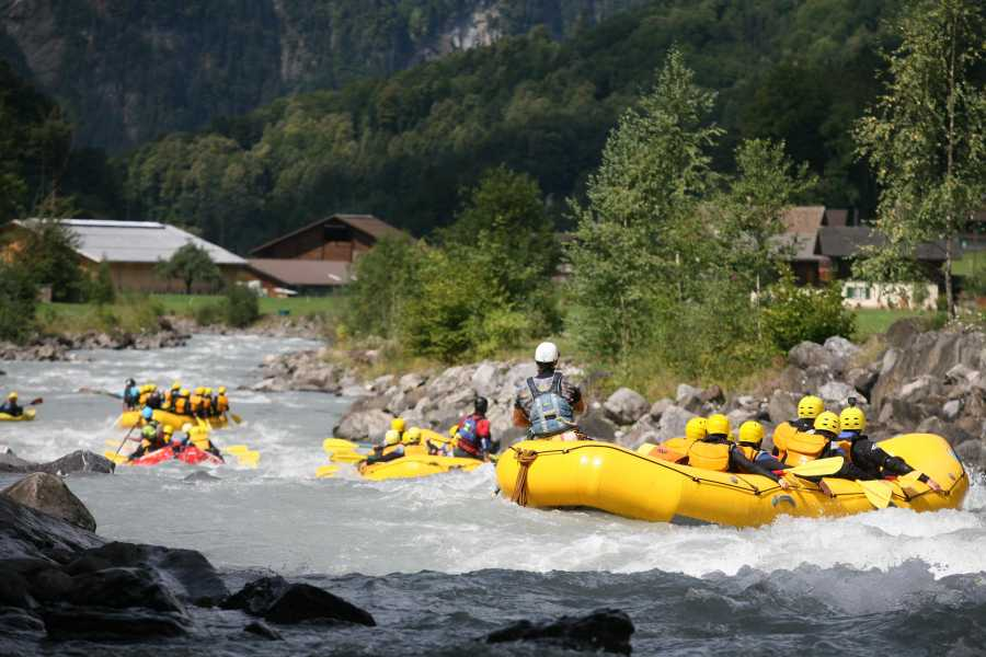 Outdoor Interlaken AG 吕奇纳河漂流(River Rafting Lütschine)