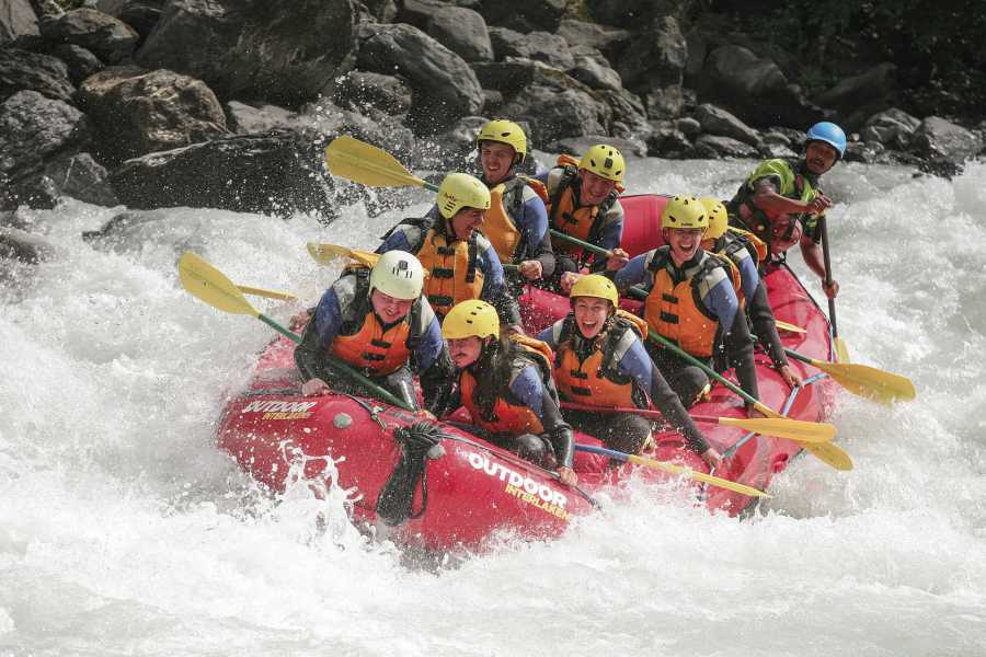 Outdoor Interlaken AG River Rafting Lütschine