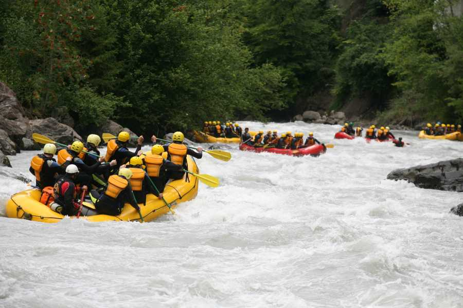 Outdoor Interlaken AG 루취네강 래프팅 (River Rafting Lütschine)