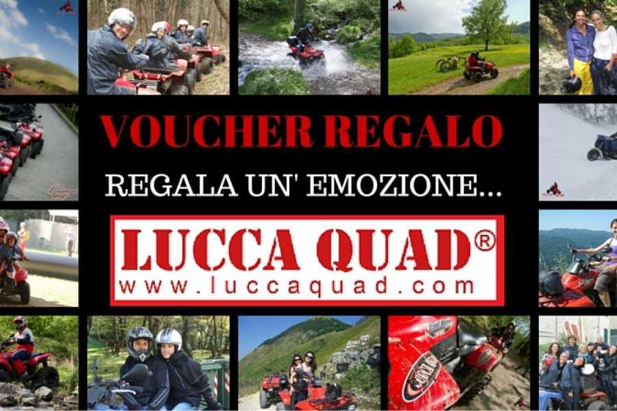 Lucca Adventure Sport Voucher Quad Orrido di Botri 160 €