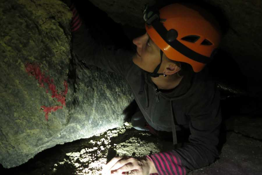 Wild-Trails Extreme Salt Caving am Toten Meer
