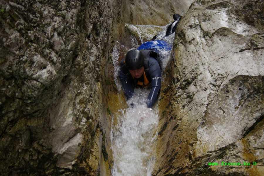 Raftingvilág Kft Canyoning