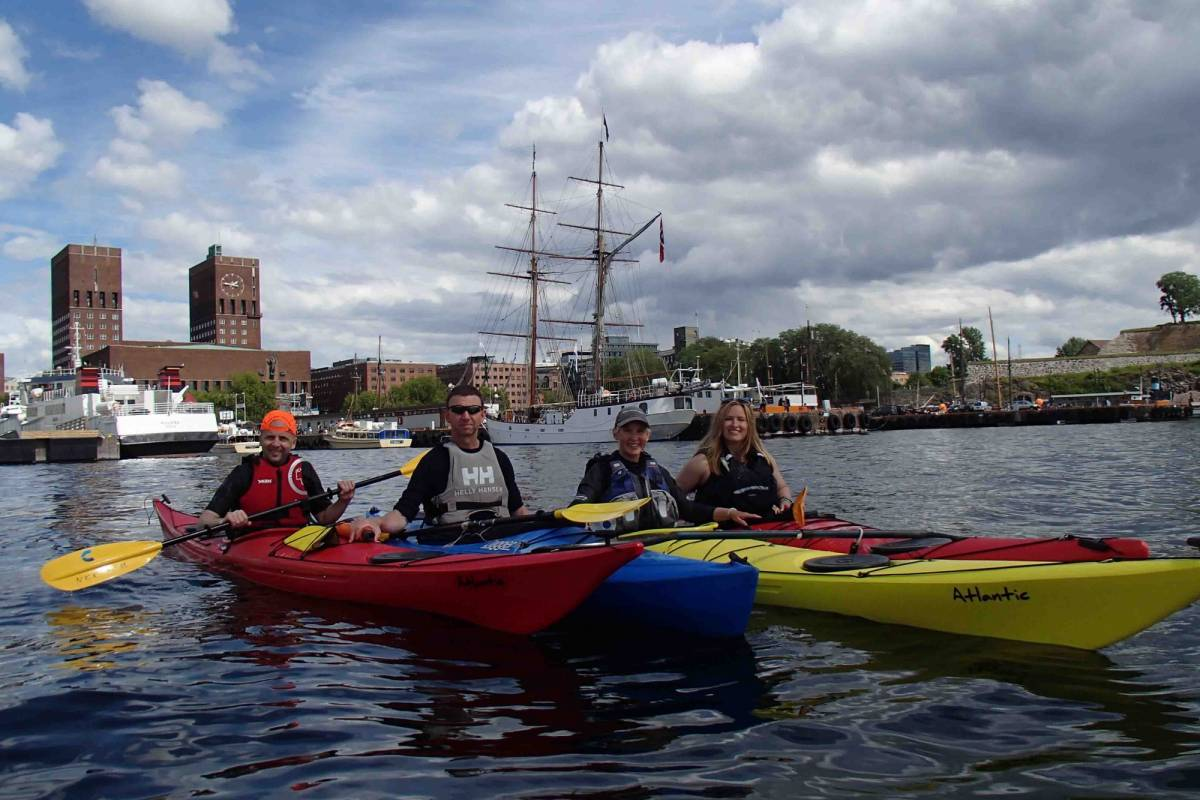 viking biking Kayak & Bike Tour