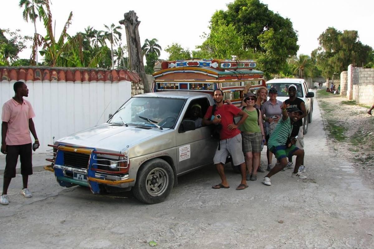 Marina Blue Haiti Tour de los caminos de Mointrouis