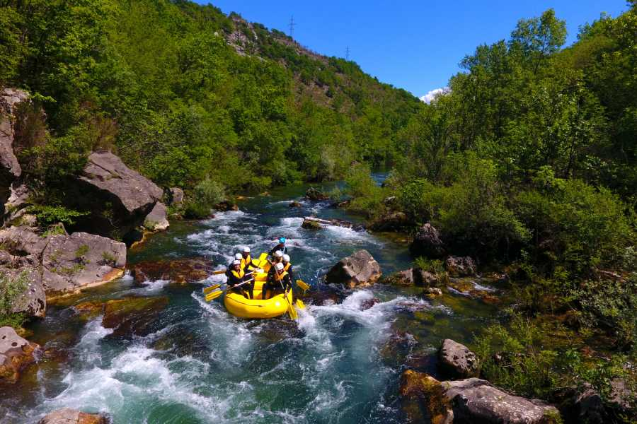 Bus2Alps AG Croatia River Rafting Adventure