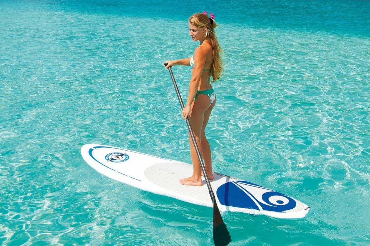 Marina Blue Haiti Stand Up Paddle Board Rental