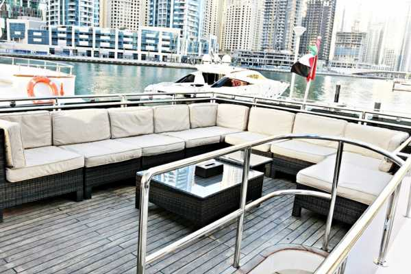 2 Hours 75FT Yacht Cruise From Dubai Marina