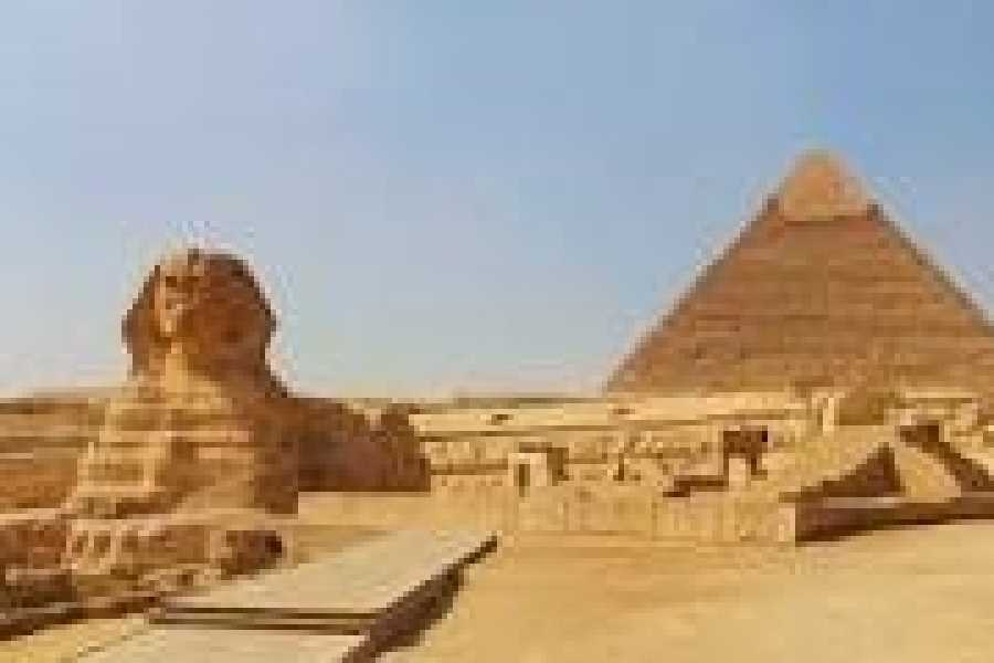 Deluxe Travel Half Day Cairo Tour Pyramids of Giza and Sphinx