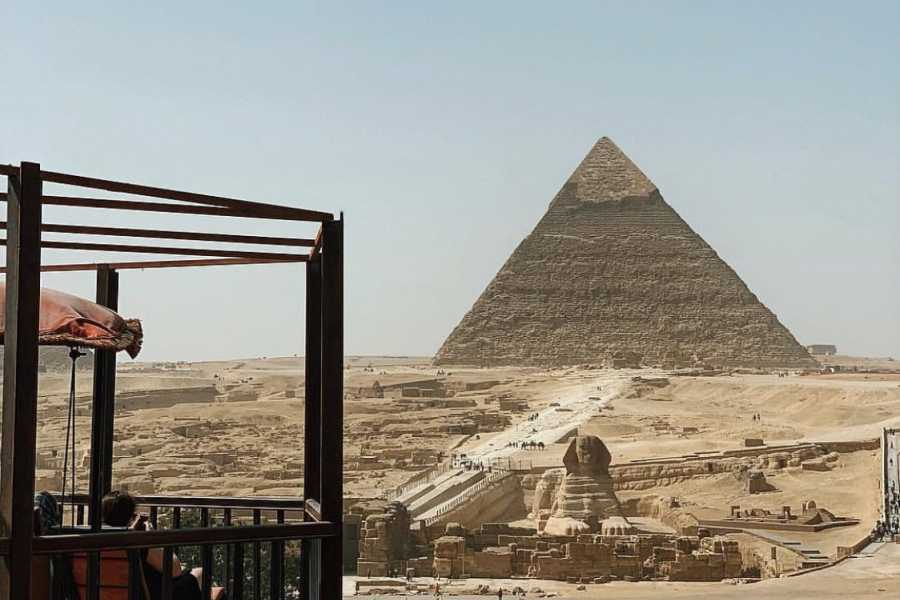 Deluxe Travel Half Day Cairo Pyramids Tour