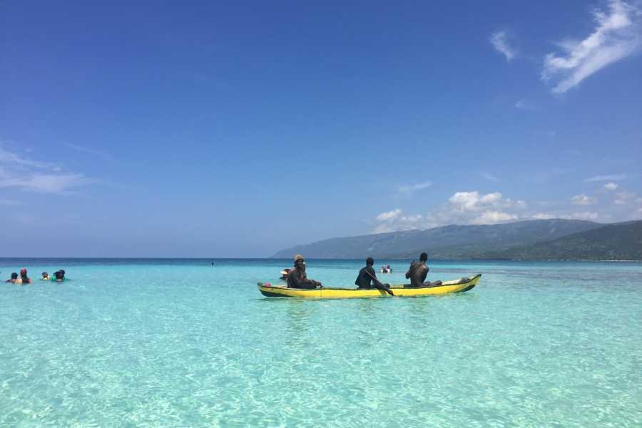 Marina Blue Haiti Excursion en bateau a Anse à Raisins, Ile de la Gonâve