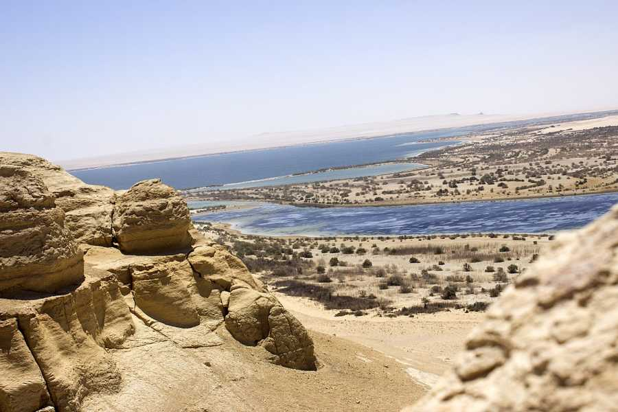 Deluxe Travel Day Tour to Fayoum Oasis and Wadi El Rayan Waterfalls