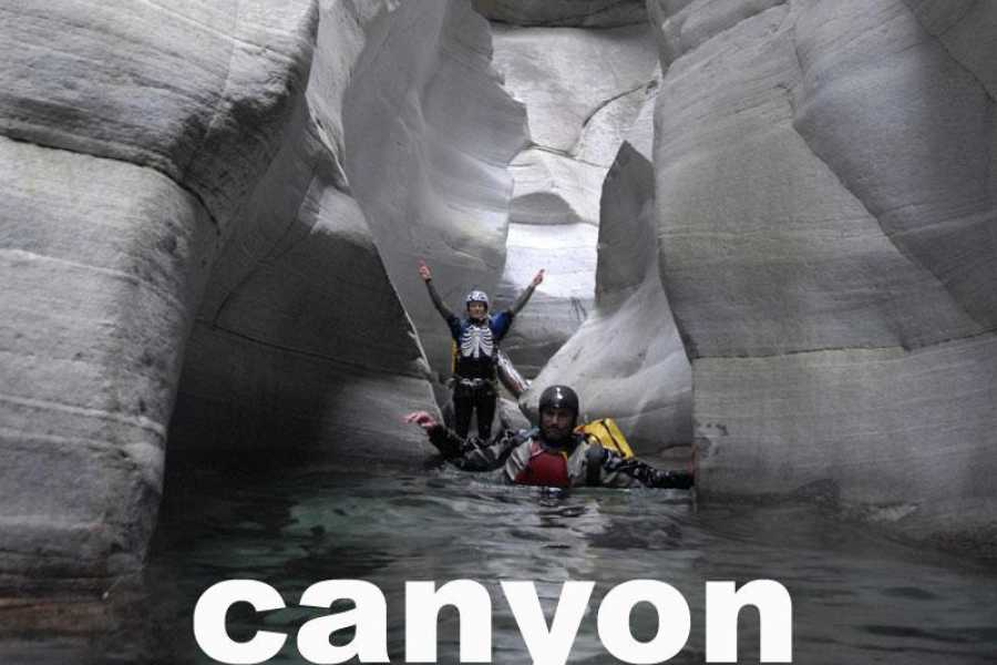 Outdoor Interlaken AG Canyoning Tessin Expedition
