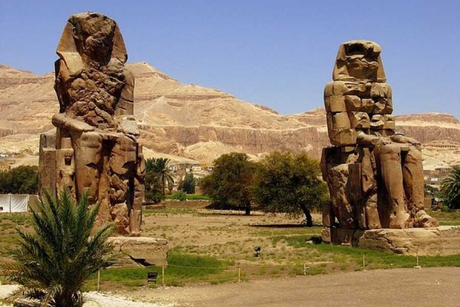 Deluxe Travel Over Day Luxor by flight from Cairo