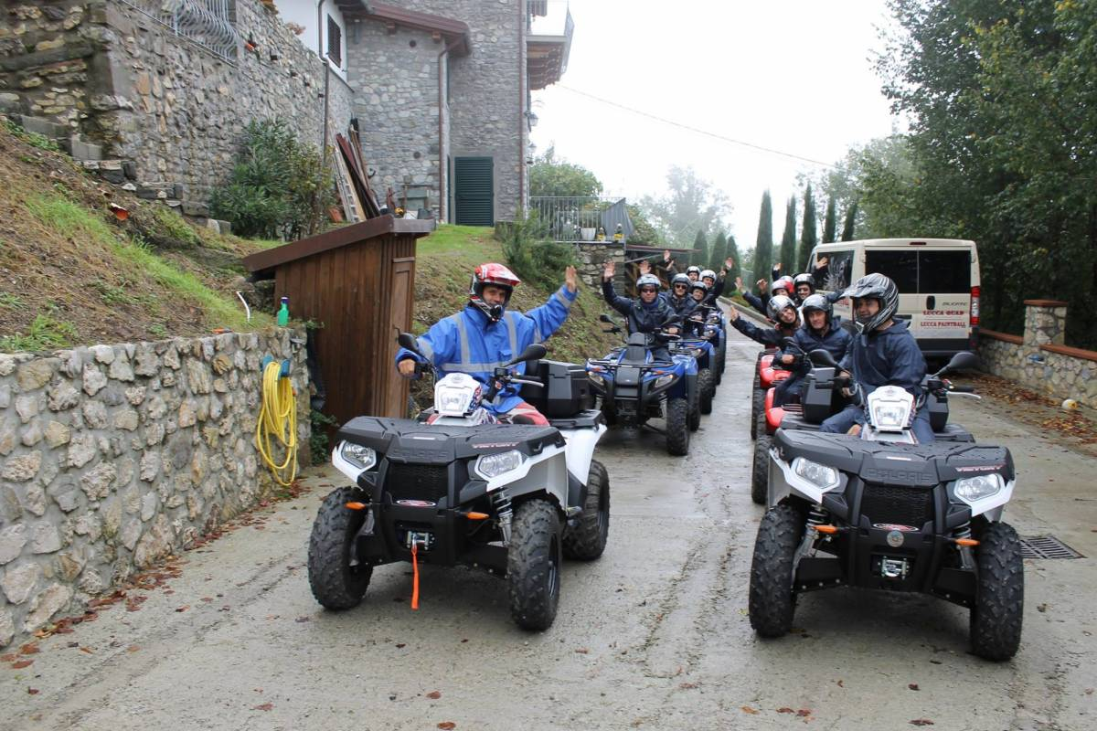 Lucca Quad STAG HEN PARTIES