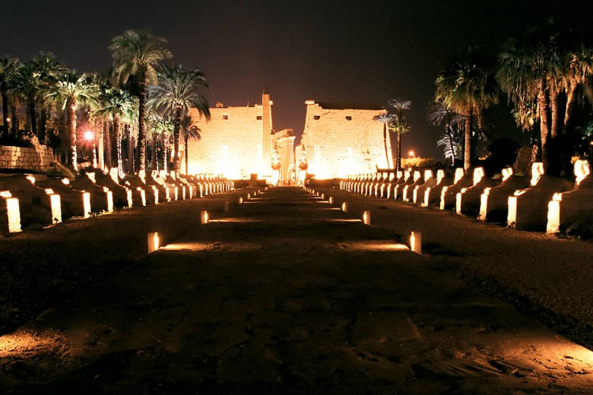 Deluxe Travel Luxor Sound and Light Show Karnak Temple