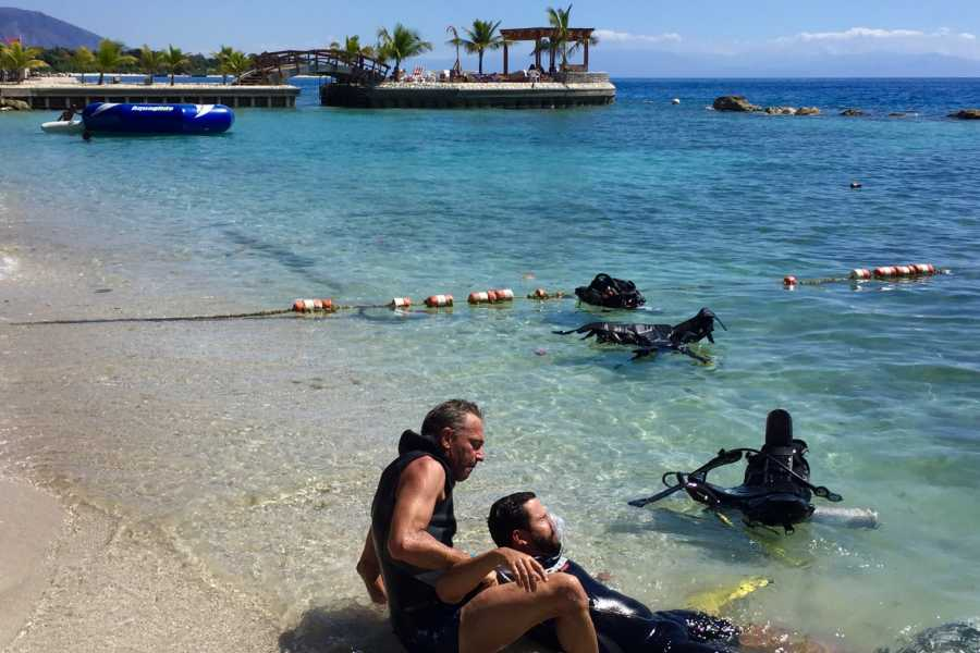 Marina Blue Haiti PADI Rescue diver (Practical part)