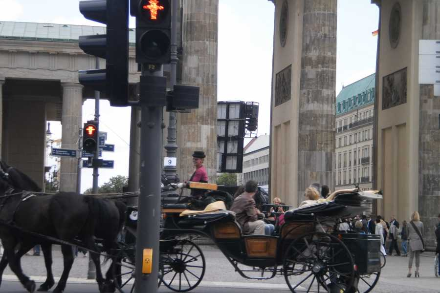 berlindividual-tours Through Berlin on foot, by citytrain and bus, from west to east