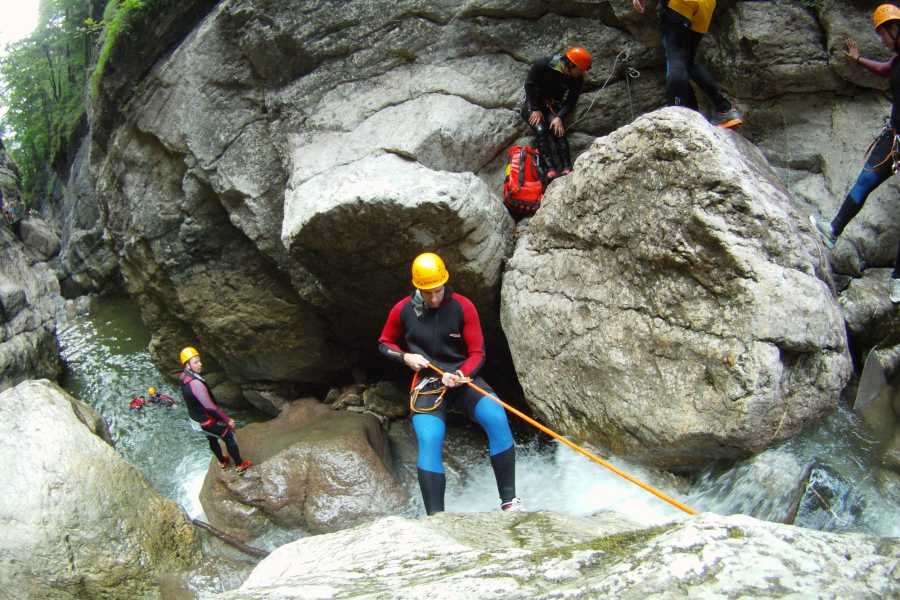 "Die Canyonauten Advanced Tour ""Starzlachklamm"""